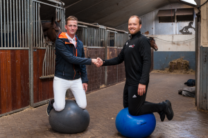 Sponsorruiter Julian de Boer